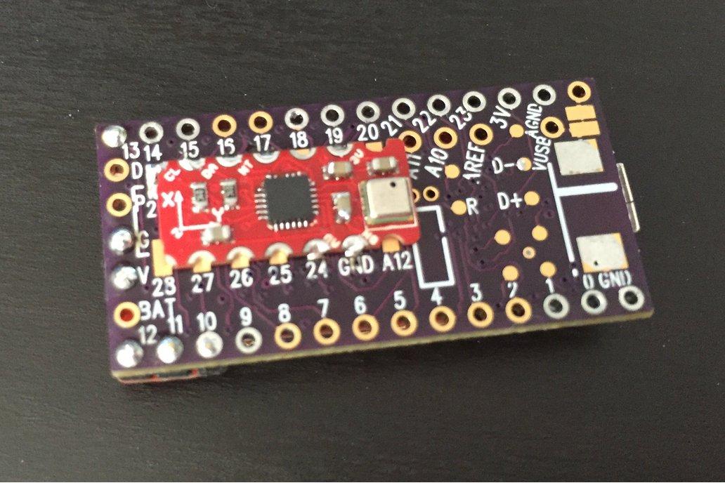 10DOF MPU9250+MS5637 sensor addon, Teensy 3.0-3.2 3