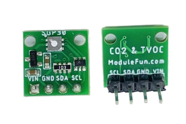 ModuleFun SGP30 Gas / Air Quality I2C sensor