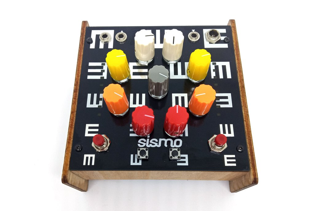 Sismo OPTICS analog synthesizer 1