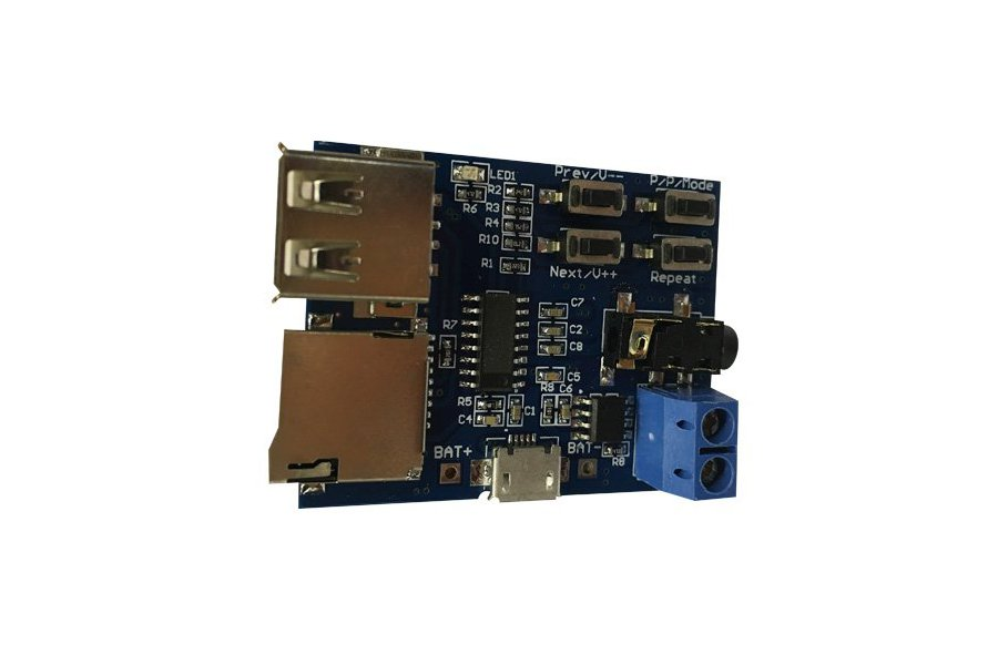 mp3 Lossless decode board module with  amplifi