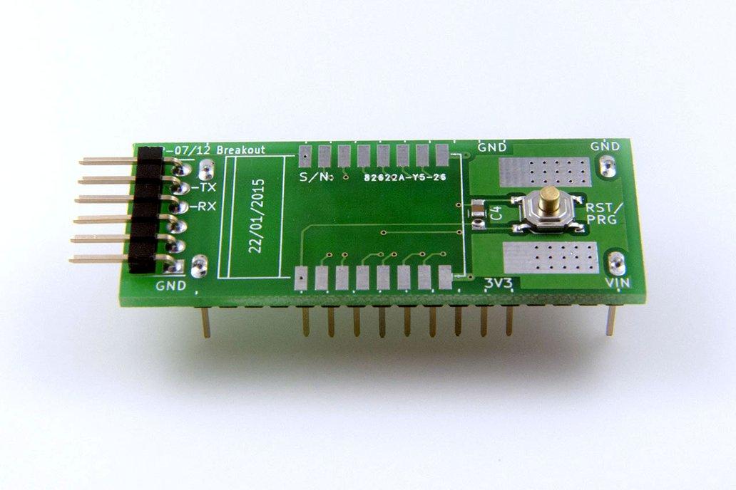 ESP8266 (ESP-07/12) Full I/O Breadboard Adapter 3