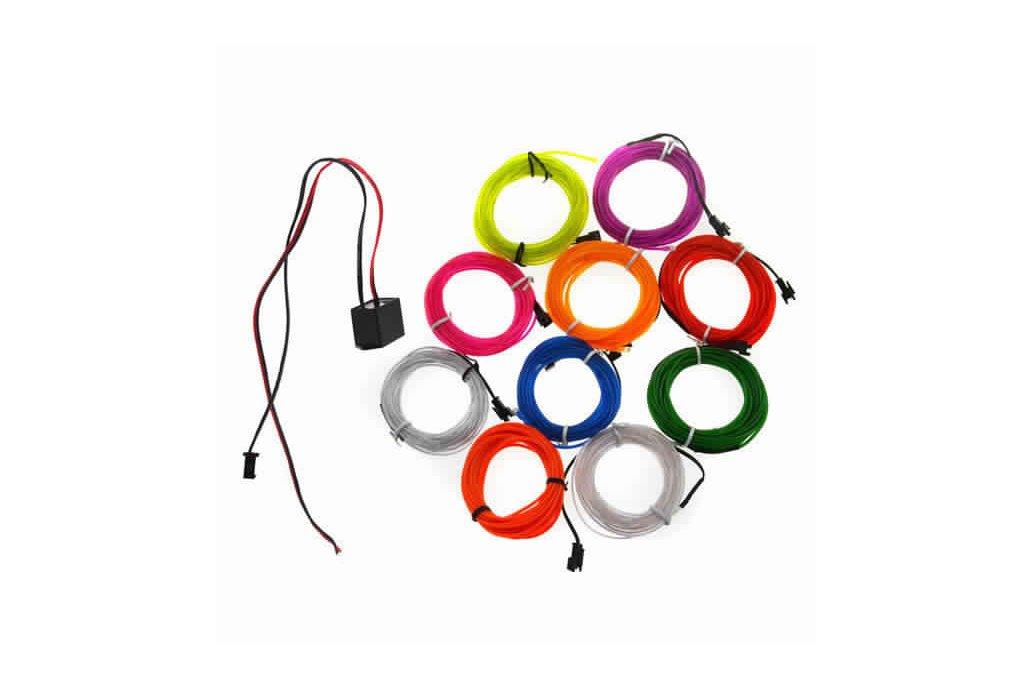 4M 10 colors 3V Flexible Neon EL Wire Light Dance  3