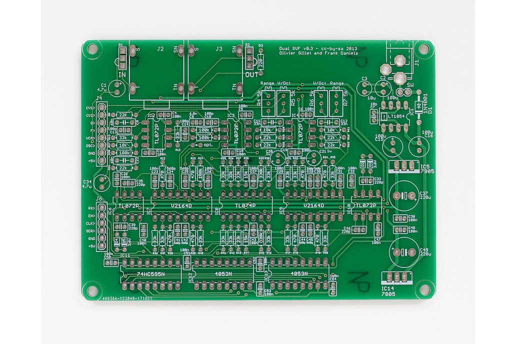 Shruthi Dual SVF Filter PCB 1