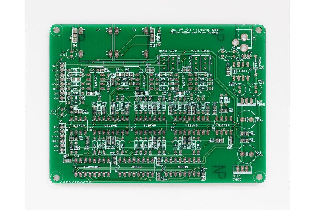 Shruthi Dual SVF Filter PCB 1