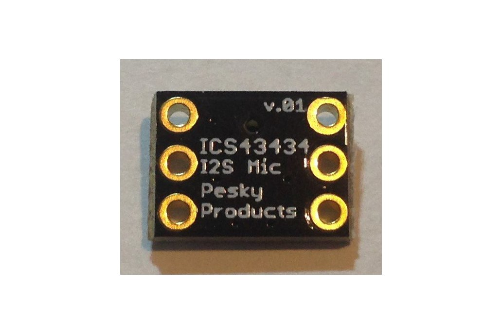ICS43434 I2S Digital Microphone 2