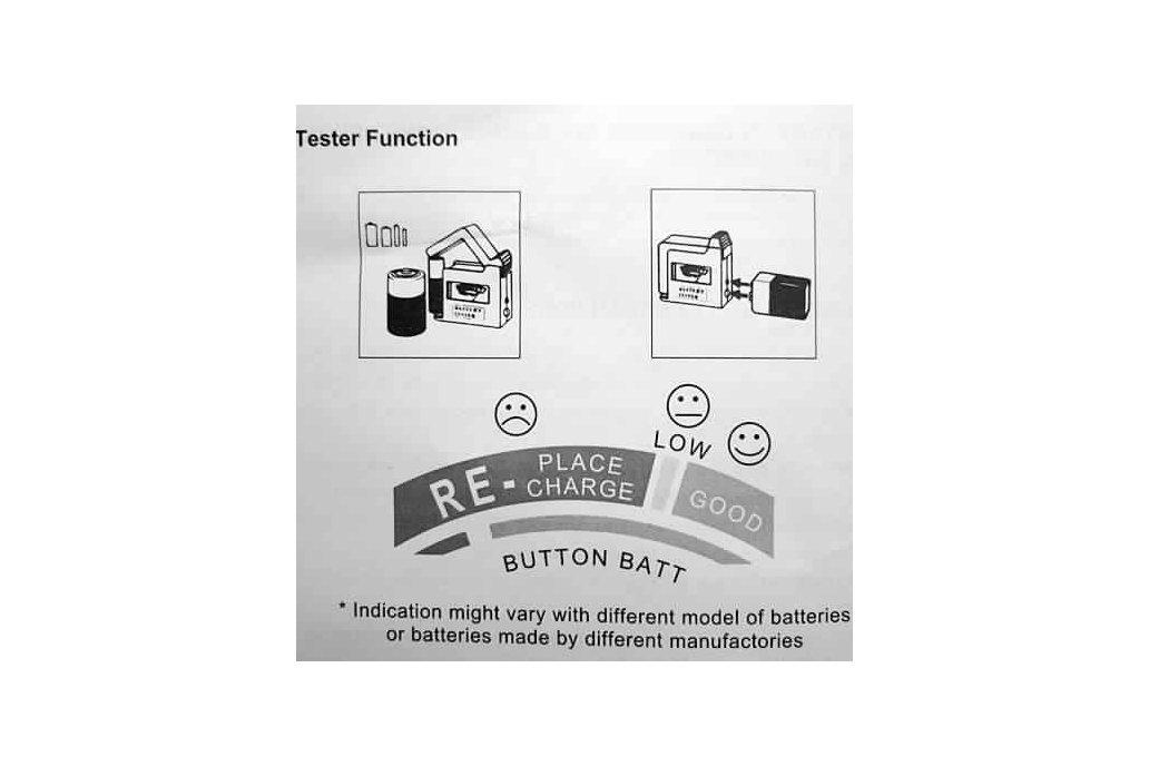 Universal Battery Volt Tester 3