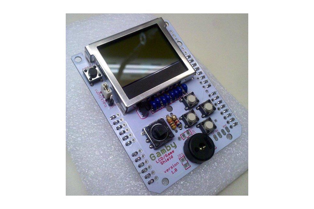 GAMBY: Arduino Retro Gaming Shield 1