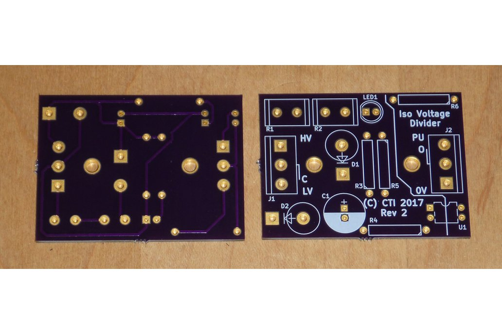 Isolated Wide Voltage Range Interface Board, Qty 2 1