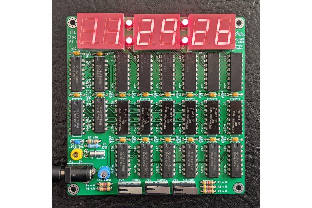 TTL Clock 1