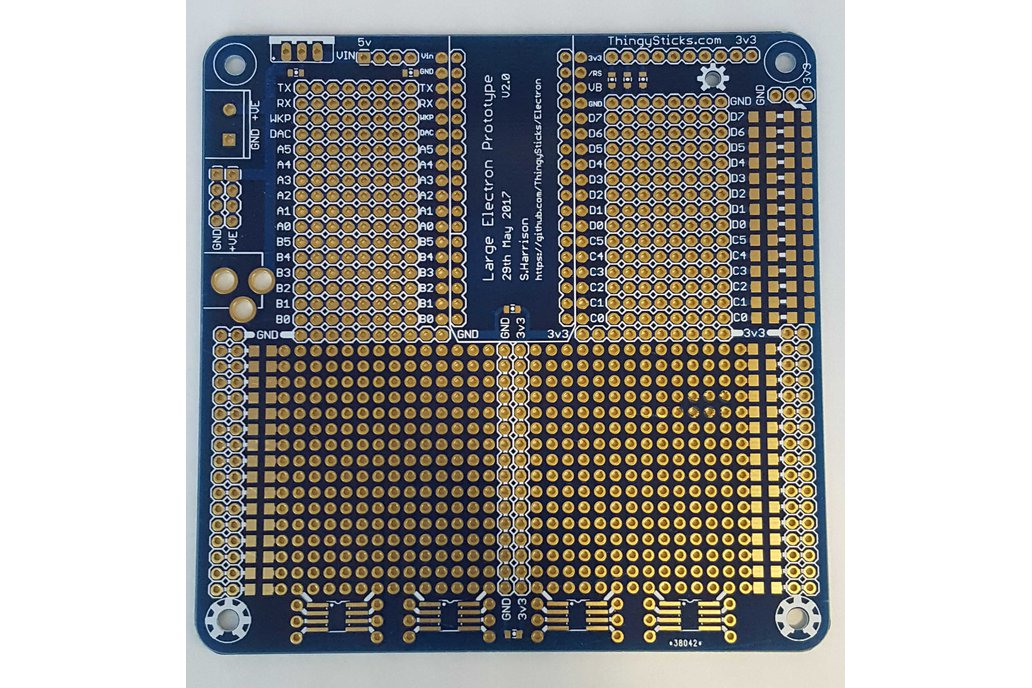 Large Prototype PCB for the Particle Electron . 1