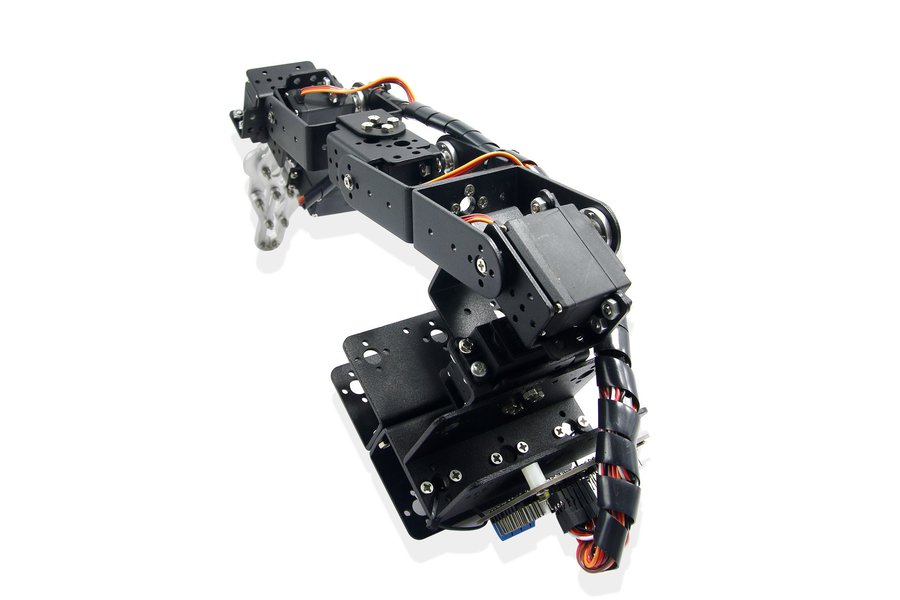 6 DOF Robot Arm Clamp Mount Kit