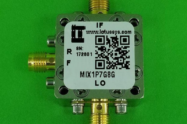Frequency Mixer 1.7G - 8GHz RF (Passive)