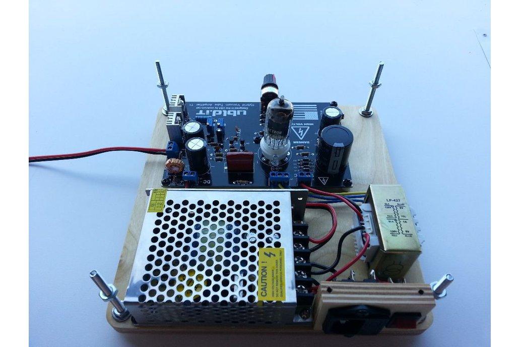 Hybrid Vacuum Tube Audio Amplifier 3