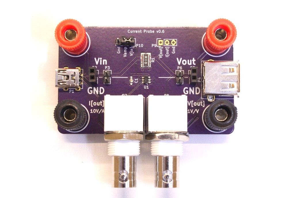 Oscilloscope Current Probe Adapter 10