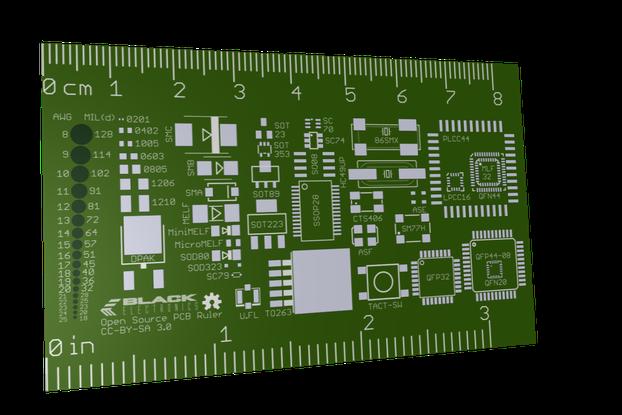 Open Source PCB Ruler