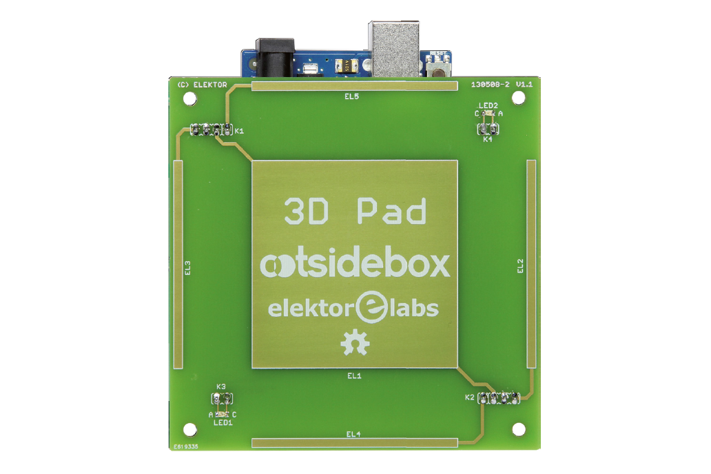 3Dpad  touchless gesture controller Arduino shield 1
