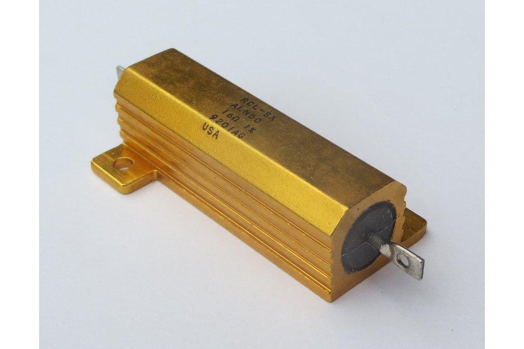 Precision 50W Resistor/Shunt 1% [16Ω or 1.6Ω] 4