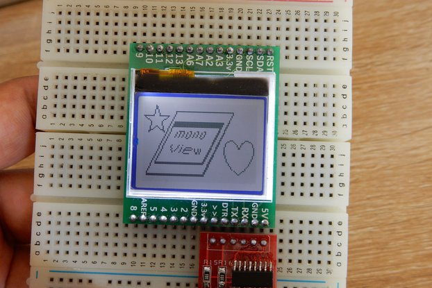 monoView - An arduino with built in display