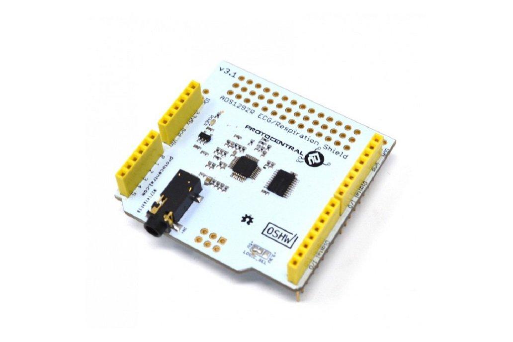 ADS1292R ECG/Respiration shield for Arduino-v2 1