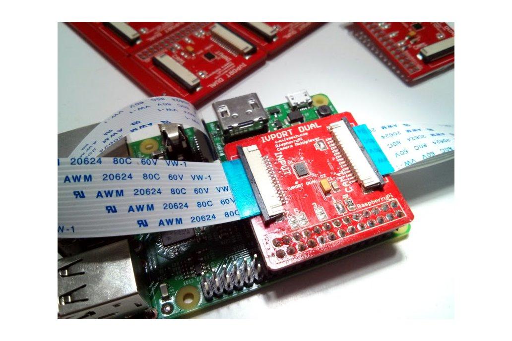 IVPort Dual V2 Raspberry Pi Camera Multiplexer 2