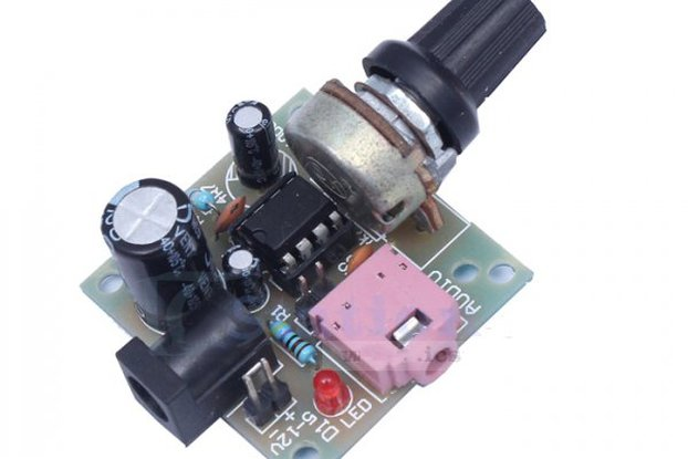LM386 Super MINI Amplifier Board DIY Kit(3011)
