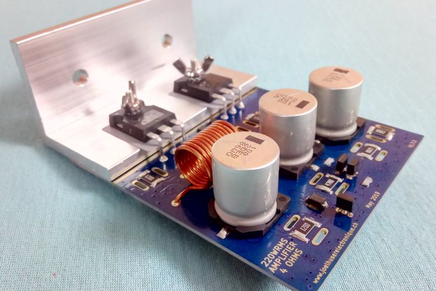 242 [WRMS] single channel audio amplifier core