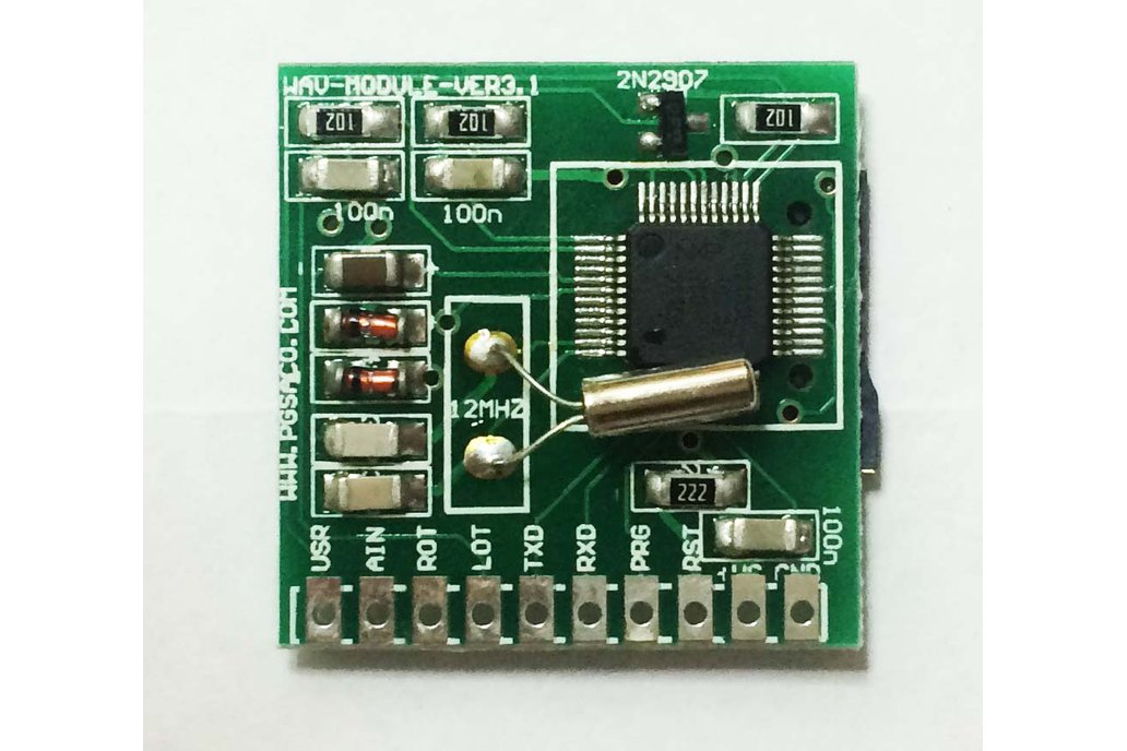 Audio stereo sound player / recorder module 3