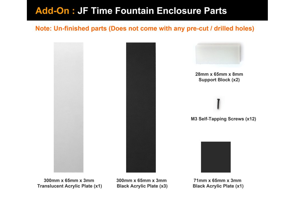 JF Time Fountain DIY Kit 7