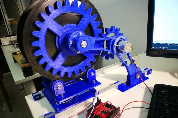 Arduino controlled 3D filament dispenser