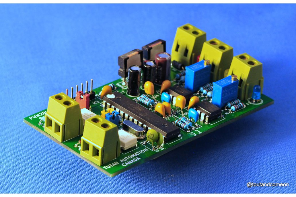 Isolated 2 Chan Low Speed PWM to Analog Converter 1