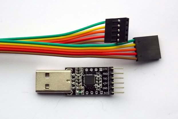 USB 2.0 to TTL UART 6-Pin Serial Converter(CP2102)