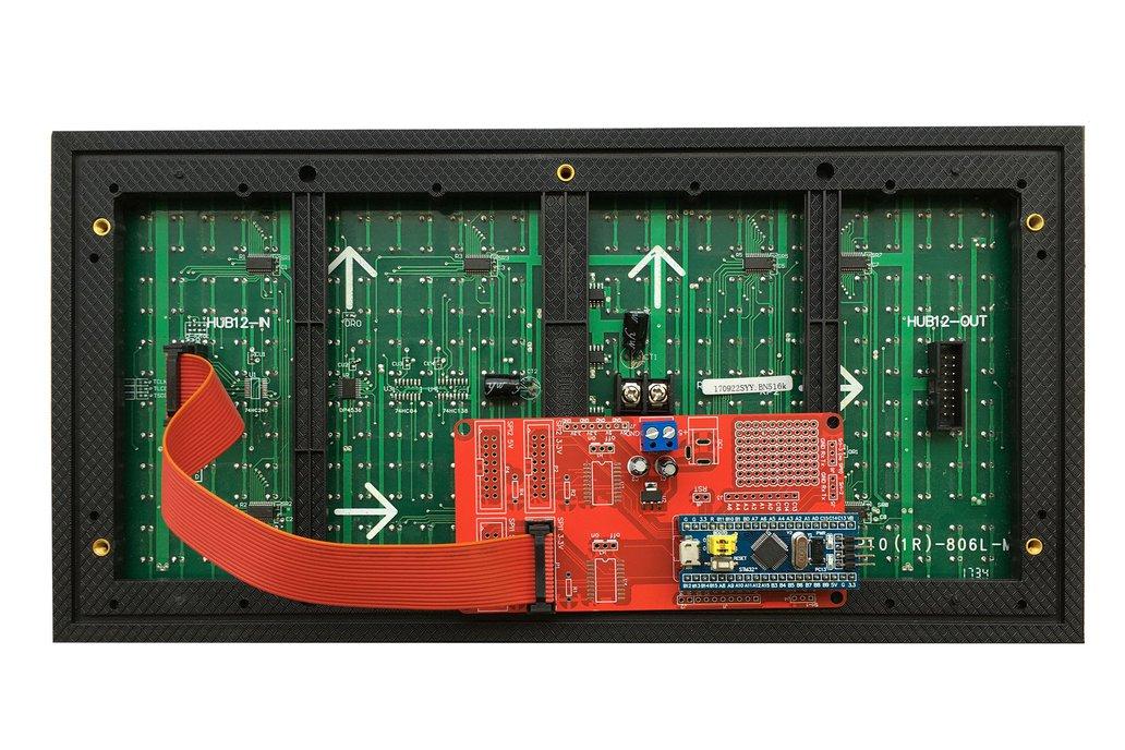 DMD-STM32 Shield for P10 LED Matrix Panel 1