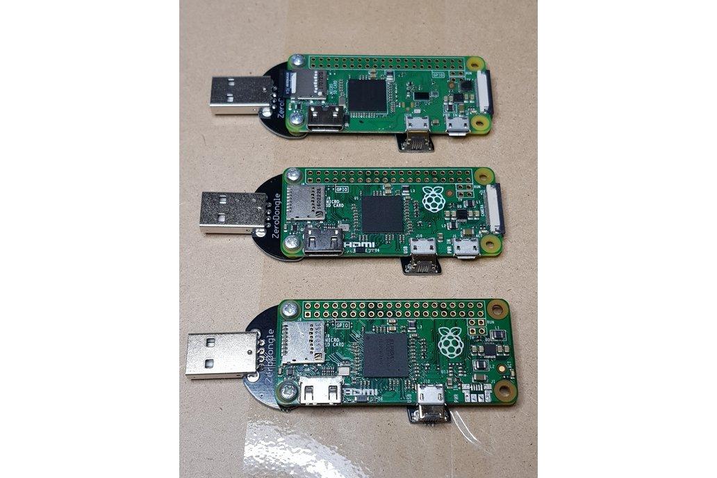 Solderless Zero Dongle for Raspberry Pi Zero 4