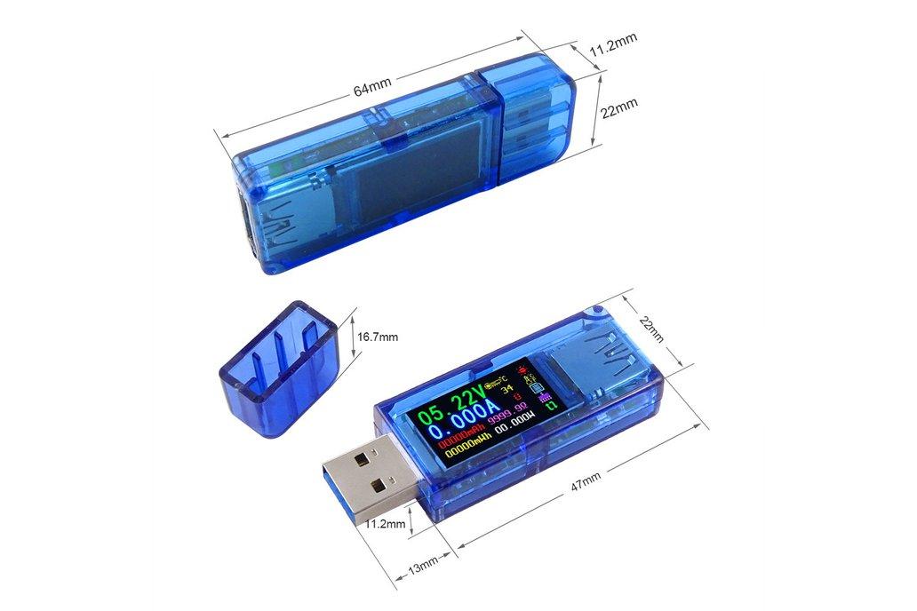 AT34 USB 3.0 power bank USB Tester 2