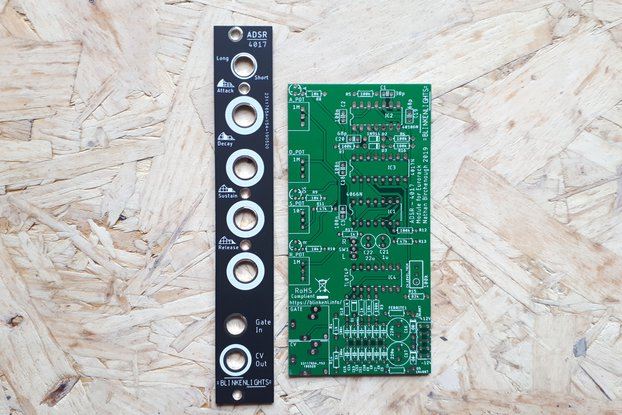 ADSR Blinkenlights Envelope Generator for Eurorack