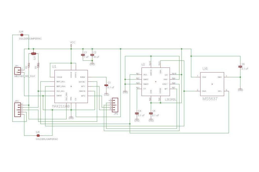 MAX21100 motion sensor with 9 DoF hardware fusion 3