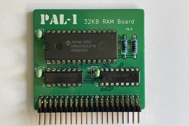 PAL-1 32KB RAM Expansion Kit