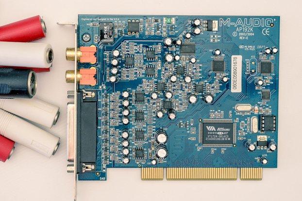 M-Audio 24-bit/192kHz audio sound card
