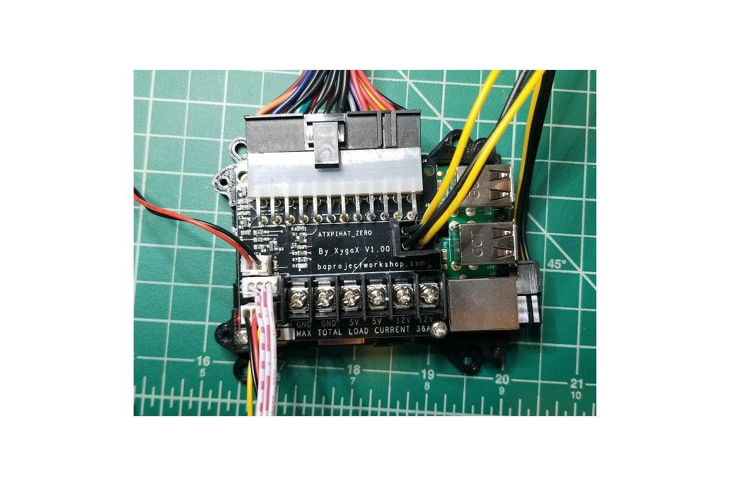 ATXPiHat Zero - ATX PSU Interface for 3D printers 4