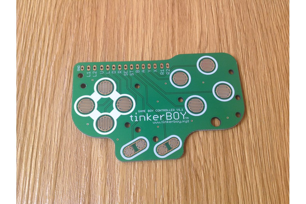 Game Boy DMG Button Controller PCB 1