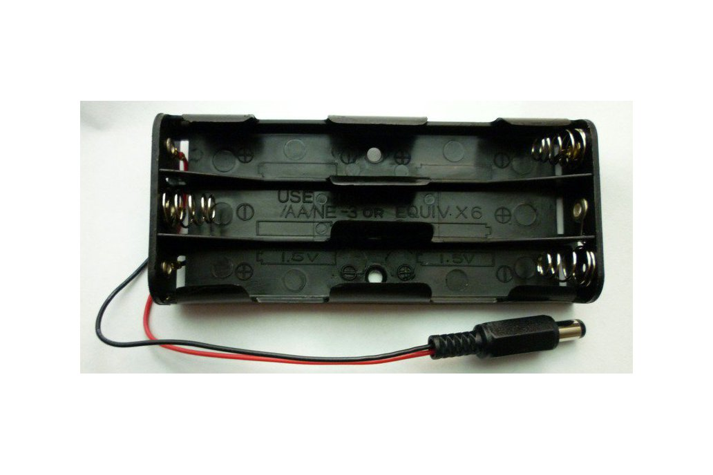 Bricktronics 6-AA Battery Holder 1
