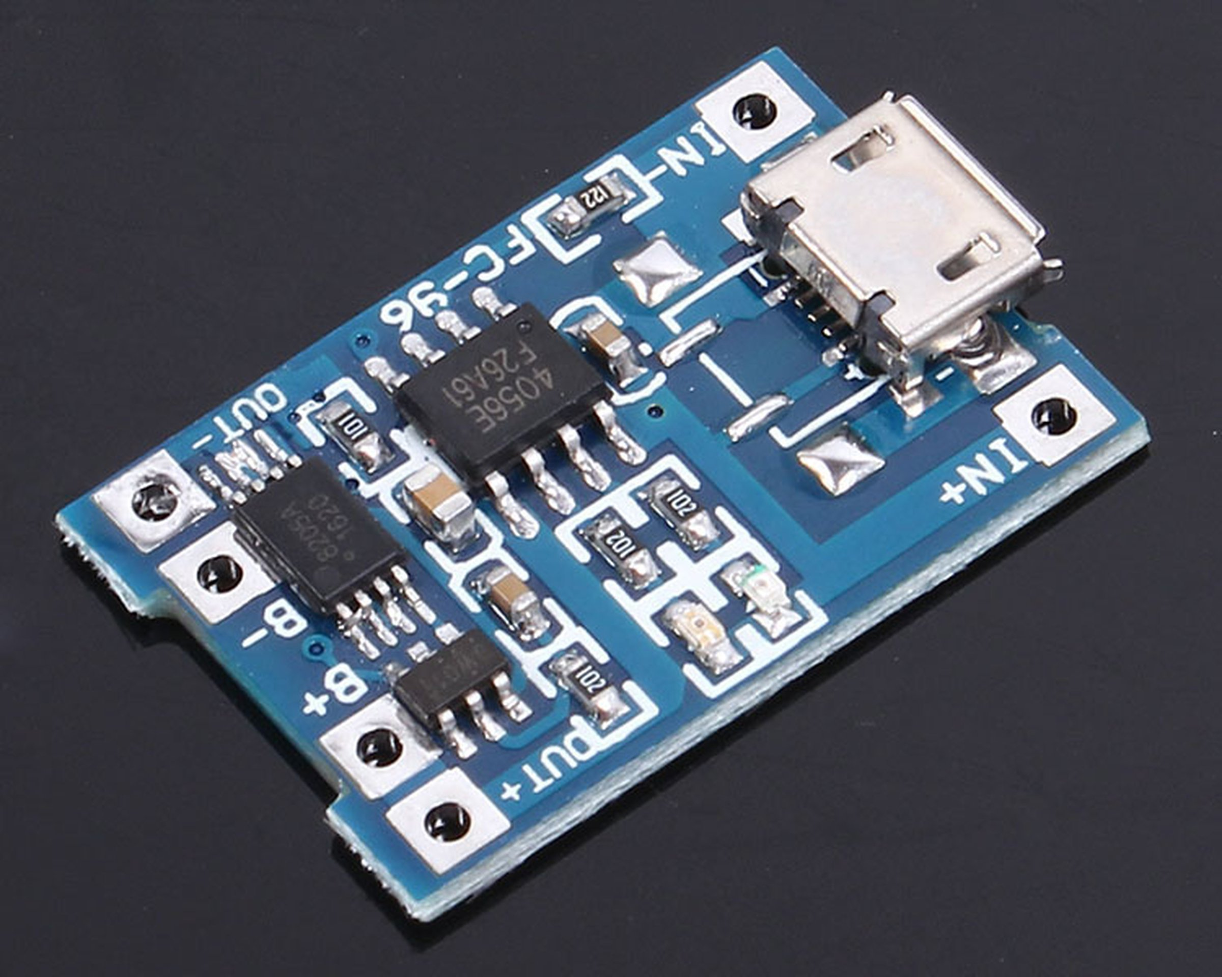 Micro Usb 5v Lithium Battery Charging Board9292 From Icstation Ion Circuit 1