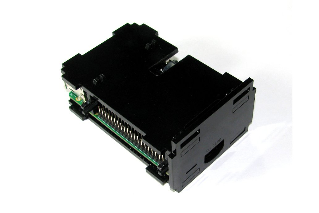 Raspberry Pi B+ Black Case 4