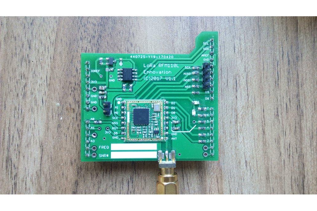 LoRa Arduino Nucleo Shield with Antenna 1