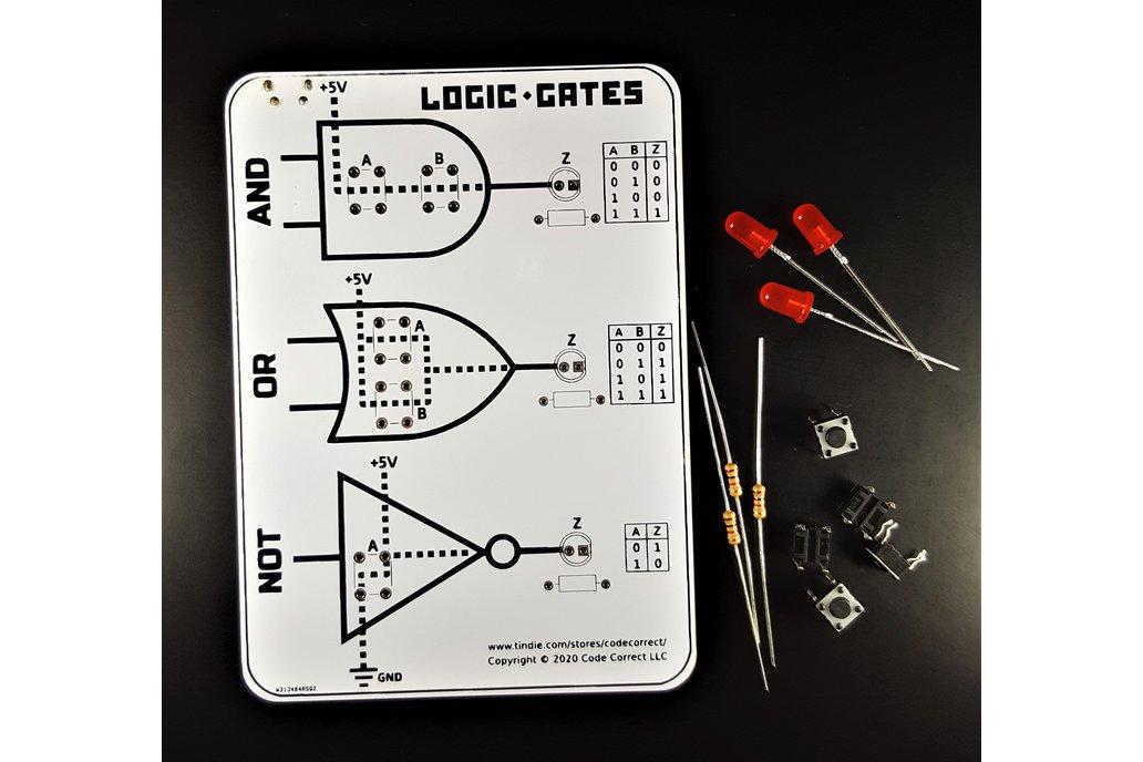 Basic Logic Gates using Switches - Learning Kit 1