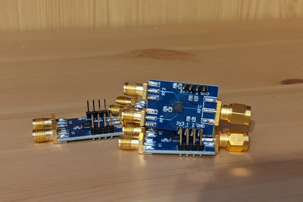 SPDT RF Switch with 50 Ohm Load