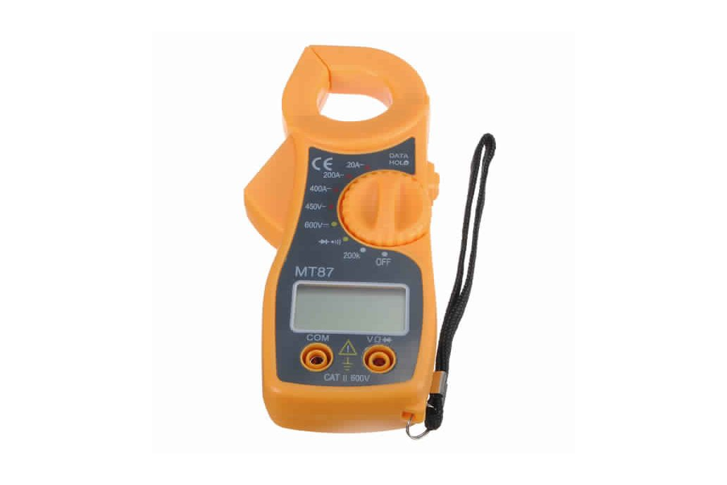 Digital Clamping Type Multimeter Tester 2