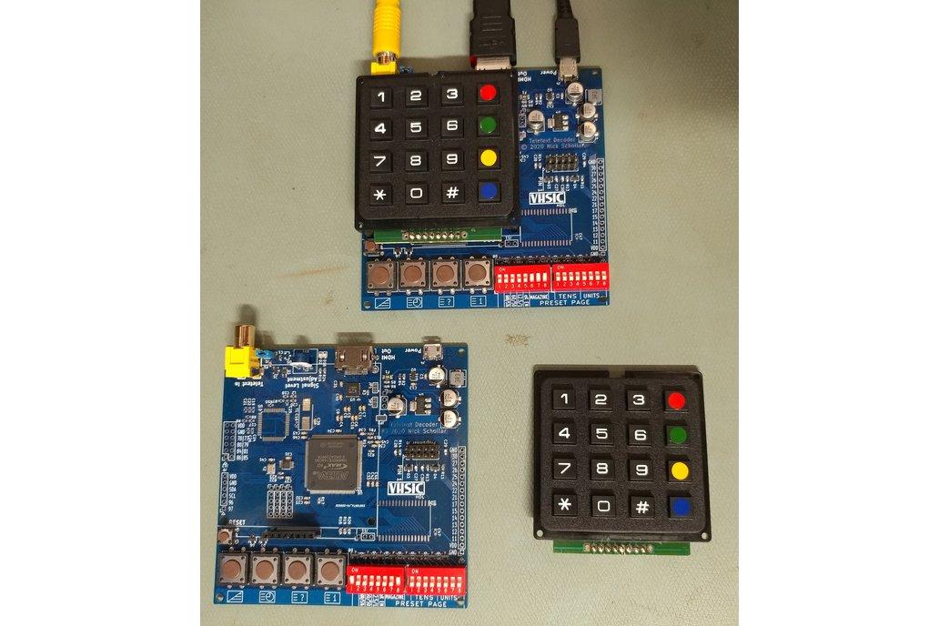 FPGA Teletext Decoder 1