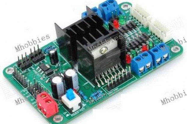 4CH DC Motor Driver control 4CH Servo Motor Controller 2CH Step motor Controller