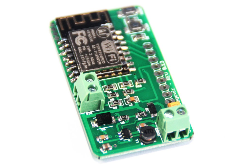 ESP-RFD Board v1. 5V-12V ESP12 board WiFi MQTT 1